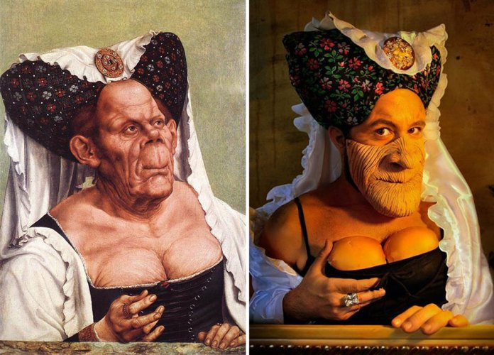 """""""Ugly Duchess"""" by Quentin Matsys"""