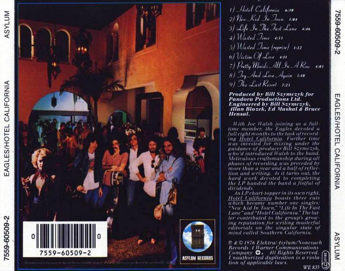 Eagles - Hotel California hikayesi