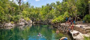 Küba'nın cennet köşesi Cueva De Los Peces