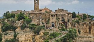 Ölen şehir Civita Di Bagnoregio