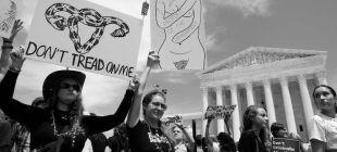 ABD'de kürtaj yasağının ardından kadınlar sokağa döküldü