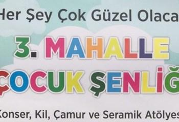 """Ankara'da çocuk şenliği: """"Her şey çok güzel olacak"""""""