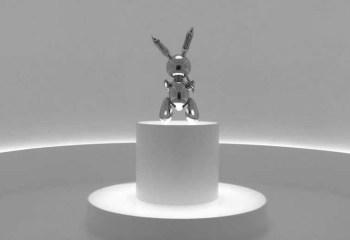 Koons'un çelik tavşan heykeline rekor fiyat: 91.1 milyon dolara satıldı