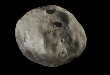 Mars'ın uydusu Phobos dolunay formunda görüntülendi