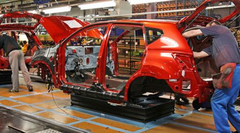 Otomotiv üretimine korona molası...