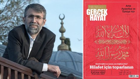 Hilafet çağrısı' yapan derginin Genel Yayın Yönetmeni Özer'den ...