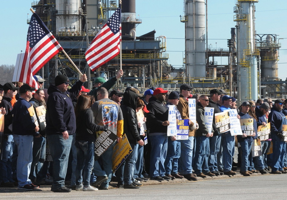 Image result for steelworkers union strike