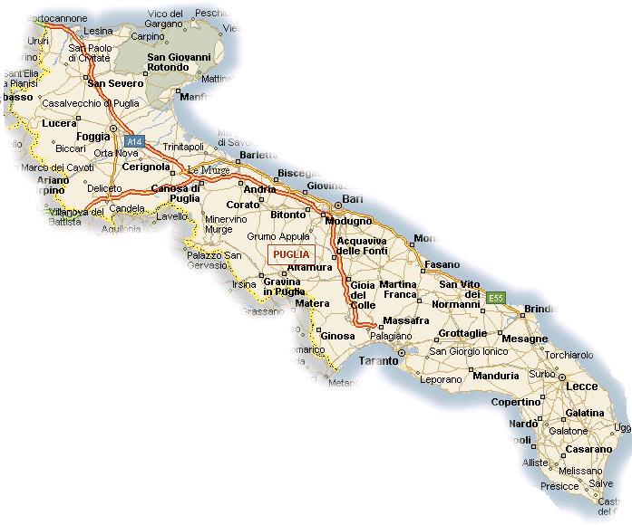 La Puglia è la regione preferita dai turisti francesi