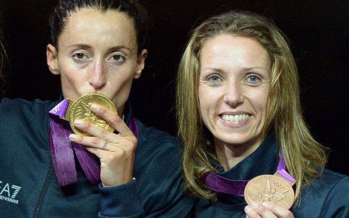 Elisa Di Francisca e Valentina Vezzali premiate dalla regione Marche