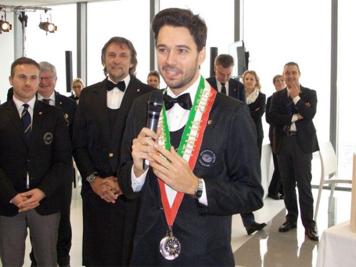 Andrea Galanti è il miglior sommelier d'Italia 2015