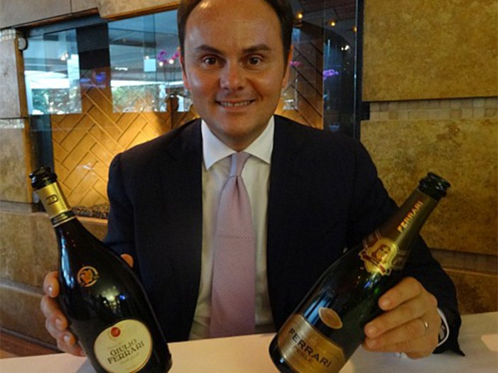 Matteo Lunelli presidente di The Wine and Spirit Competition 2016