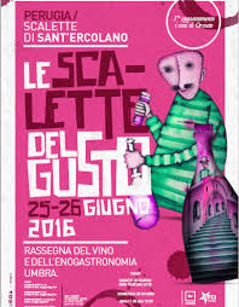 Le scalette del gusto a Perugia