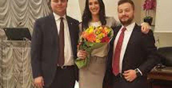 Ilaria Caporali guida dei giovani imprenditori Umbria