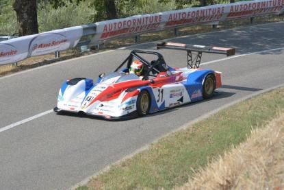 Il secondo classificato, Cosimo Rea con Ligier JS 51