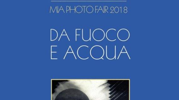 Fuoco e acqua alla 'MIA photo fair' di Milano