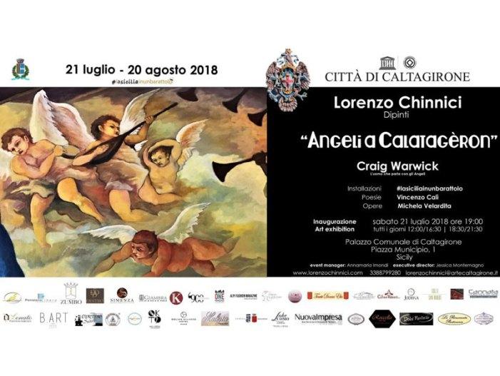 """Arte, Craig Warwick a Caltagirone: """"Contatterò lo spirito di Caravaggio"""""""