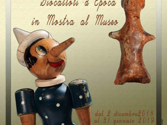 Mostra Giocattoli d'epoca al Museo Nazionale Archeologico della Sibaritide
