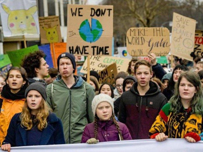 Milioni di giovani in marcia per la Terra