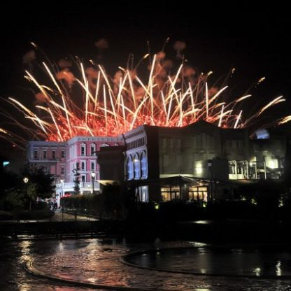 Fuochi d'artificio Cinecittà World