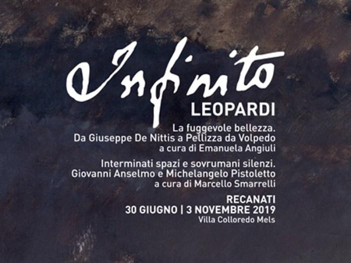L'estate a Recanati con Giacomo Leopardi e L'Infinito nell'arte