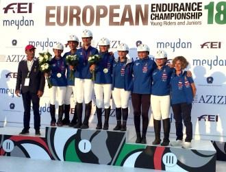 Argento-Campionati Europei Junior e Young Rider 2018