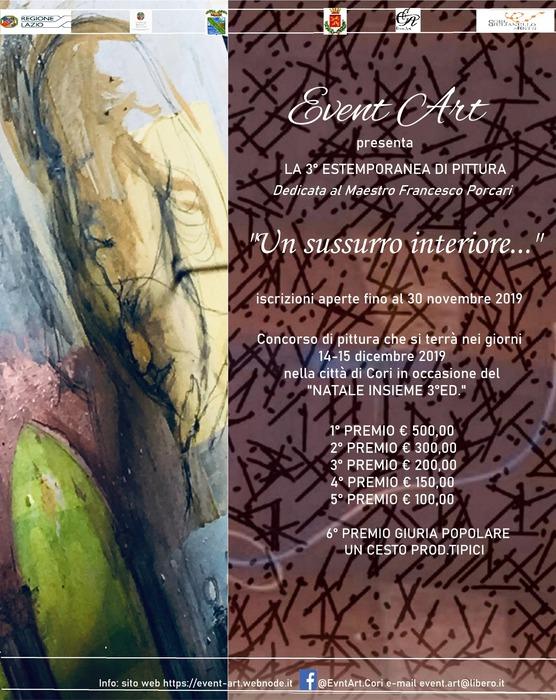 3° Estemporanea di pittura in memoria del Maestro Francesco Porcari-locandina