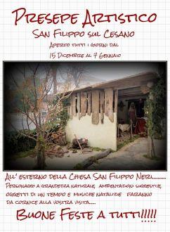 presepe artistico san filippo mondavio-dic2019-locandina