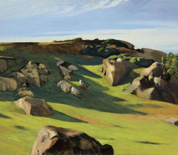 Edward Hopper - Cape Ann Granite, 1928