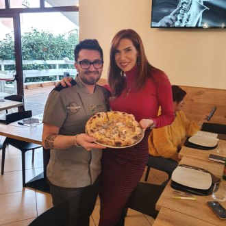 Giacomo Garau e Veronica Maya da Olio e Basilico
