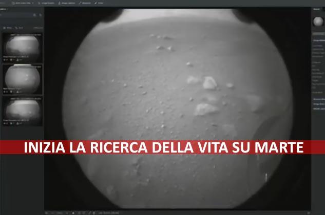 Il rover Perseverance è su Marte. Inizia la ricerca della vita
