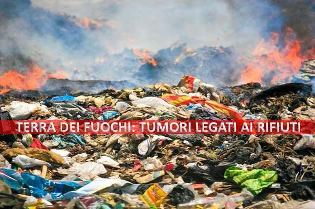"""Terra dei fuochi, arriva la conferma nel report di Procura e Istituto superiore Sanità: """"tumori legati ai rifiuti"""""""