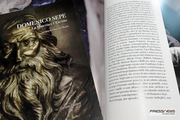 La Materia e L'Eterno: il catalogo d'Arte di Domenico Sepe