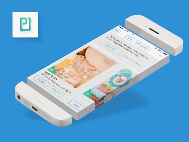 mobile magazine app