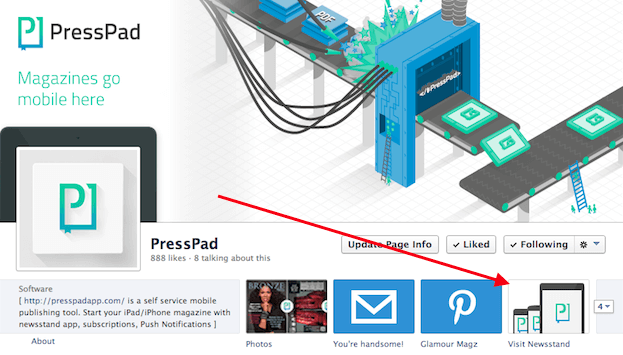 PressPad-on-Facebook
