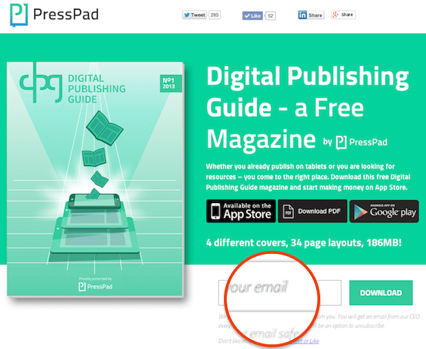 Digital Publishing Guide Giveaway