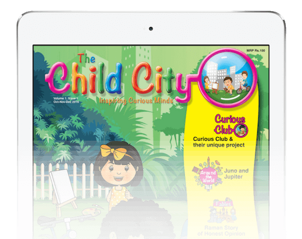 The Child City iPad Magazine app