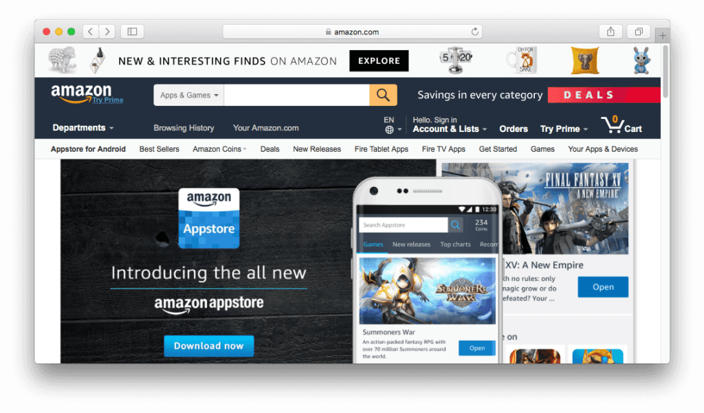 The All New Amazon Appstore