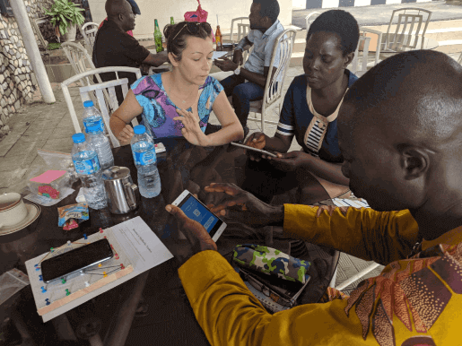WhyBlueSky used PressPad mobile apps to educate teachers in Africa