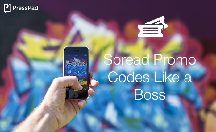 use promo codes as a prizes in facebook contest