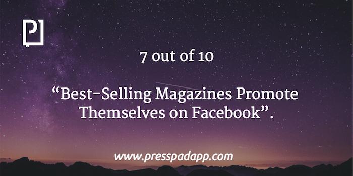 magazines promote on facebook