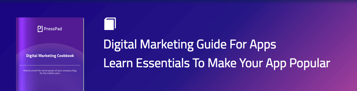 Online marketing guide from PressPad
