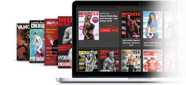 digital publishing platform for magazines