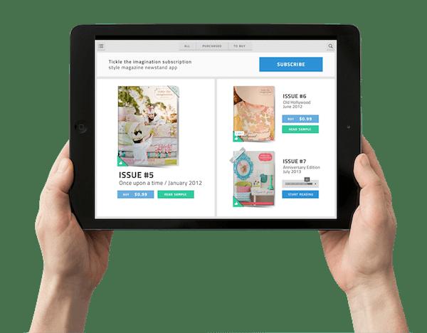 mobile platform for publishers