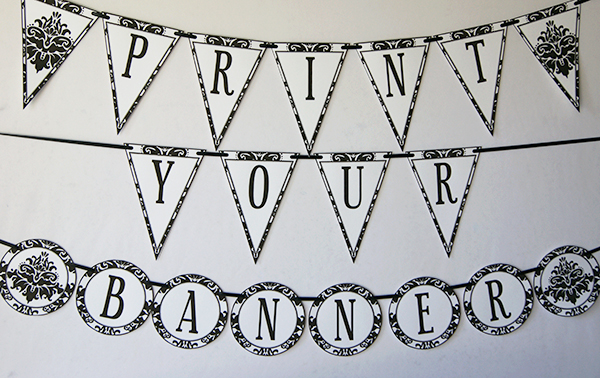 Black-Damask-Banner-Printable