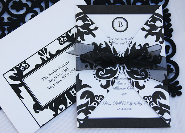 Black-Damask-Invitation-Printable