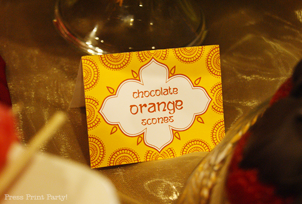 Indian-henna-place-card-printable