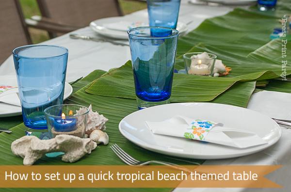 banana-leaves-on-set-table-top