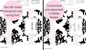 Troubleshooting PDF fields