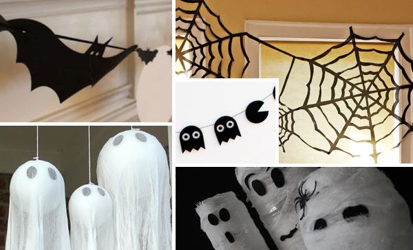 5 Super Easy Halloween Decorations - Press Print Partycorations - Press Print Party