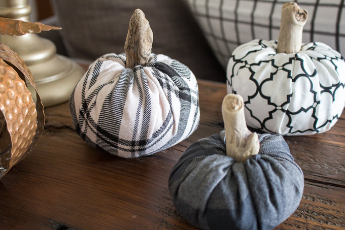 Pumpkin craft ideas -fabric